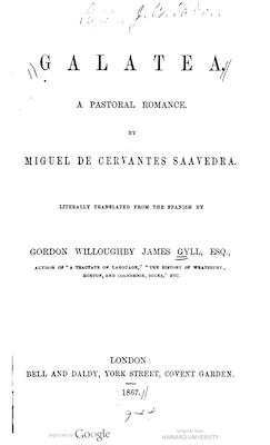Book Cover: Galatea