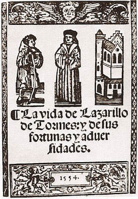 Book Cover: The Life of Lazarillo of Tormes