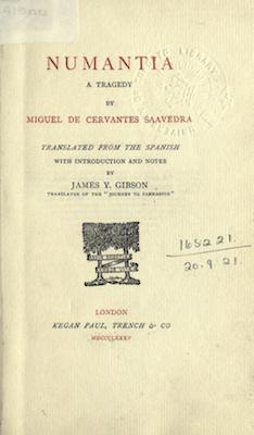 Book Cover: Numantia