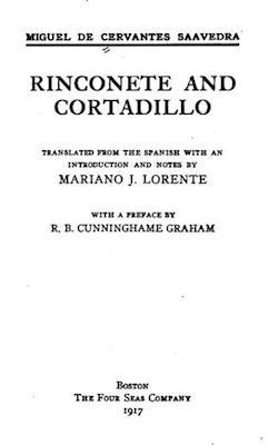 Book Cover: Rinconete and Cortadillo