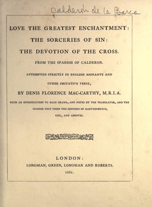 Book Cover: Three autos sacramentales