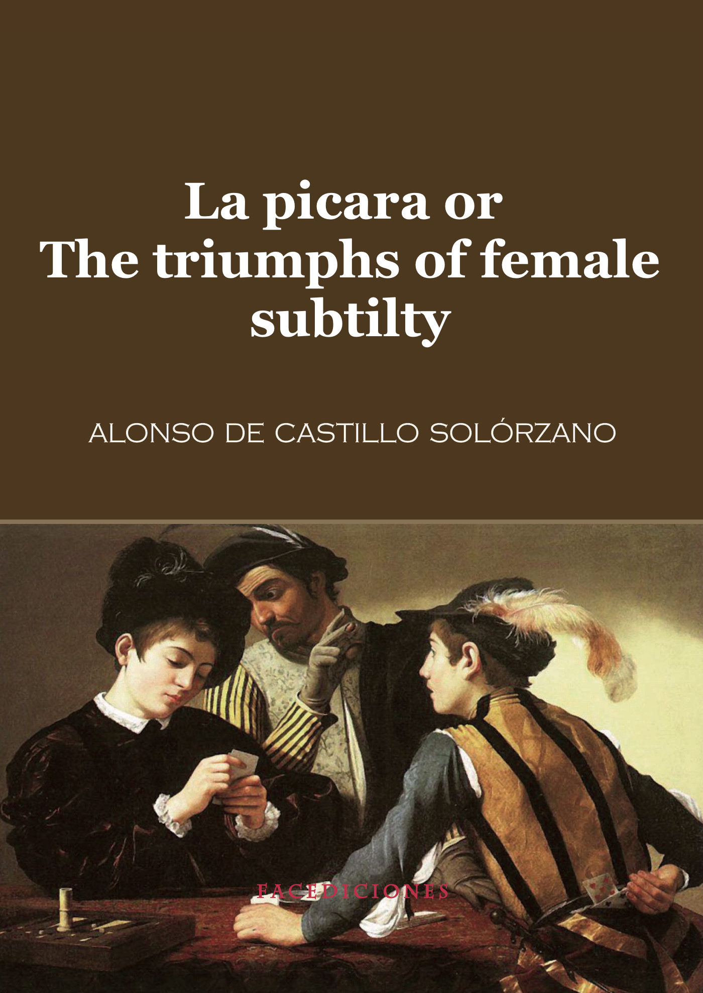 Book Cover: La picara or The triumphs of female subtilty