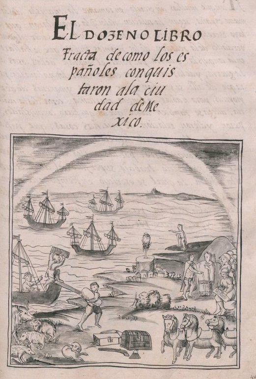 Book Cover: History of the conquest of New Spain (1585)